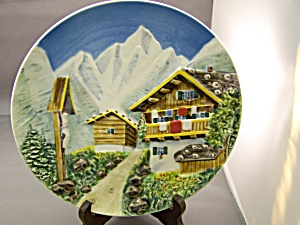 West Germany Raised Relief Collector Plate