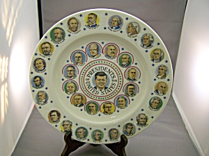 Presidential Collector Plate