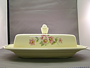 Vintage Homer Laughlin Covered Dish