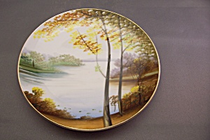 Handpainted Occupied Japan Collector Plate (Image1)