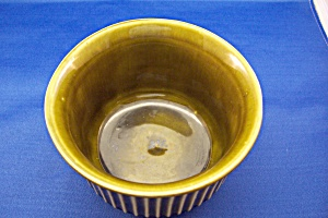 Vintage McCoy Green Bowl (Image1)