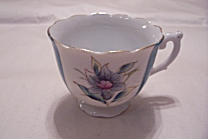 Ponde Chinal Hand Painted Demitass Teacup