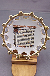The Lord's Prayer Miniature Collector Plate