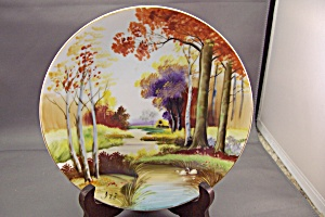 Handpainted (ITO) Occupied Japan Collector Plate (Image1)