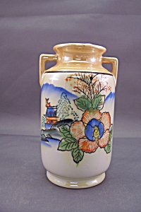 Occupied Japan Hand-painted Vase