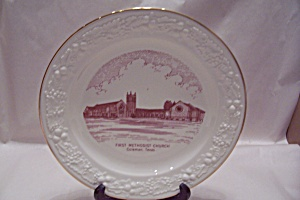 First Methodist Church, Coleman, Tx Collector Plate