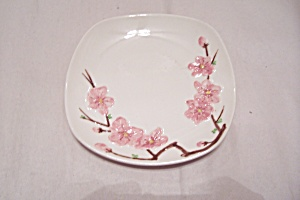 Poppy Trail Peach Blossom Pattern Bread & Butter Plate