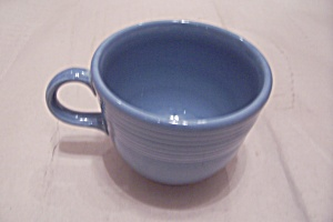 Fiesta Periwinkle Blue Cup & Saucer
