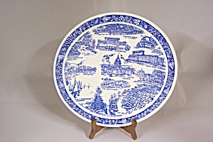 Vernon Kilns Wisconsin Collector Plate (Image1)