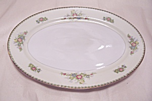 JAP29 China Pattern  Large Oval Platter (Image1)