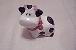 Holstein Cow Pepper Shaker