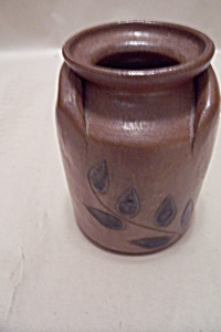 Handmade Art Pottery Milkcan Cache Pot (Image1)
