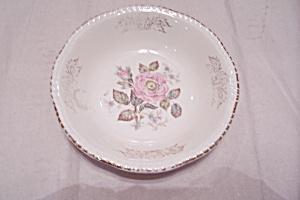 Vintage Rose Motif Salad/Dessert Bowl (Image1)