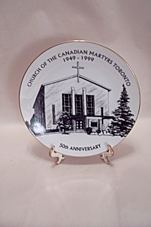 Church Of The Canadian Martyrs Collector Plate