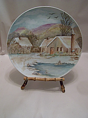 Artist Handpainted Collector Plate (Image1)