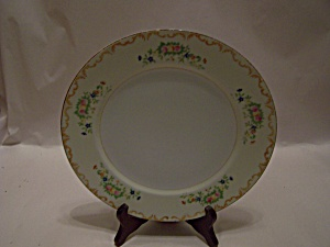 Occupied Japan Handpainted Floral Collector Plate