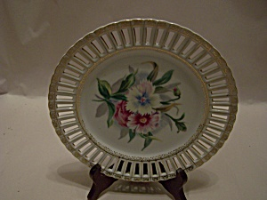 Handpainted Occupied Japan Collector Plate