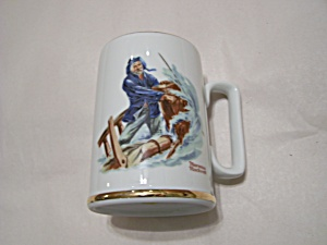 Norman Rockwell Braving The Storm Mug (Image1)