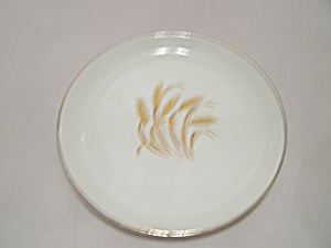 Homer Laughlin Golden Wheat Pattern Luncheon Plate (Image1)