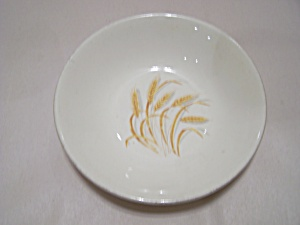 Homer Laughlin Golden Wheat Pattern Fruit/Dessert Bowl (Image1)
