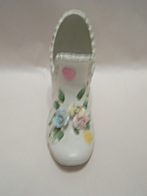 Vintage Lady Porcelain Slipper