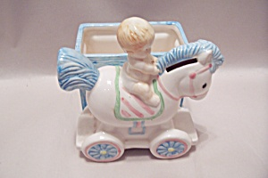 Baby & Pony Bank & Cache Pot (Image1)