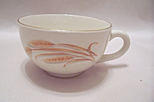 Homer Laughlin Golden Wheat Pattern Cup