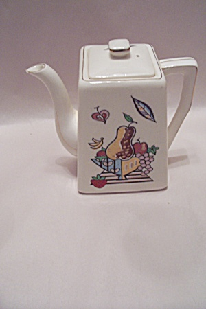 Fruit Motif Teapot