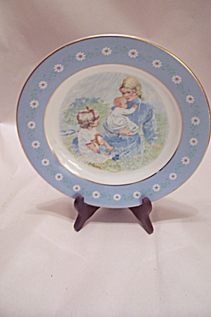 Vintage Avon Tenderness Collector Plate