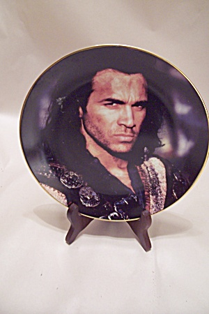 Male Movie Star Collector Plate