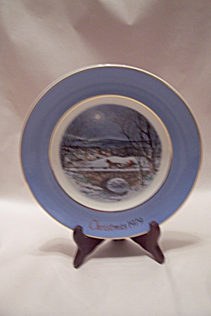 Avon Christmas 1979 Collector Plate