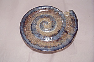 Decorative Seashell Ceramic Dish