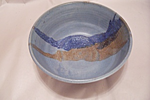 Artist Handmade Art Pottery Bowl
