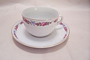 Vintage Z, S, & G, Bavaria Cup & Saucer (Image1)