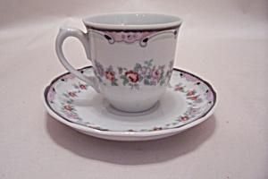 Brazilian Demitasse Teacup & Saucer (Image1)