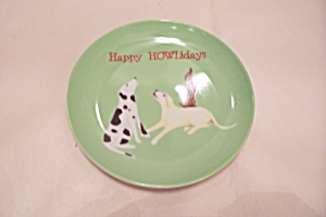 Happy Howlidays Collector Plate