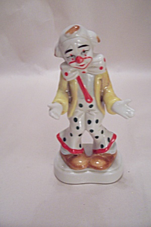 Homco Clown Figurine