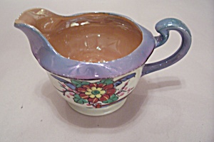 Occupied Japan Lustre Ware Handpainted Pitcher (Image1)