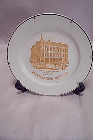 Bushwacker Days '74 Nevada. Mo Collector Plate