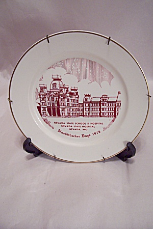 Bushwacker Days 1976, Nevada, Mo., Collector Plates