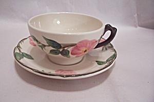 FRANCISCAN Desert Rose Pattern Cup & Saucer (Image1)