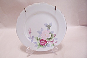 Occupied Japan Kutani Handpainted Rose Collector Plate