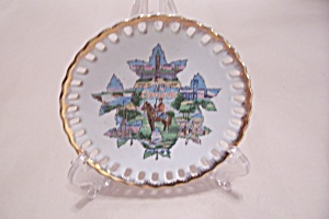 Occupied Japan Canada Maple Leaf Collector Plate