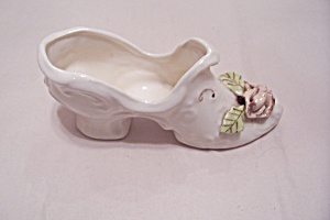 Occupied Japan Porcelain Lady's Slippper