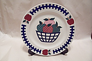 Apple Motif Collector Plate