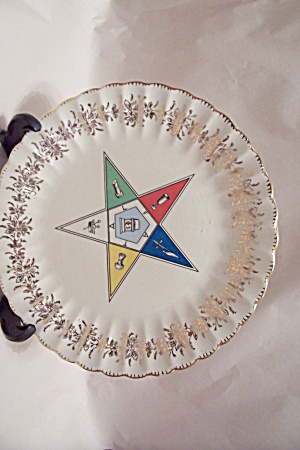 Eastern Star Collector Plate.