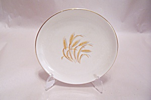 F & S Golden Wheat Bread Plate
