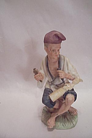 Ivory Carver Figurine (Image1)