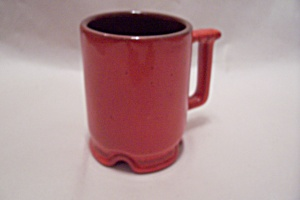Frankoma Footed Flame Mug