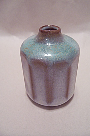 Artist Handmade Pottery Miniature Bottle Vase